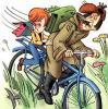 «Почта России» закупает для почтальонов 16 тысяч велосипедов, изготовленных в корпоративном стиле