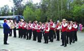 Оркестр из Германии на празднике в Софьине