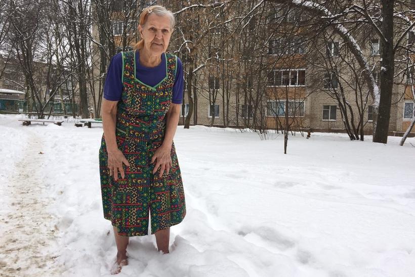 Пенсионерка из Селятино нашла способ не болеть