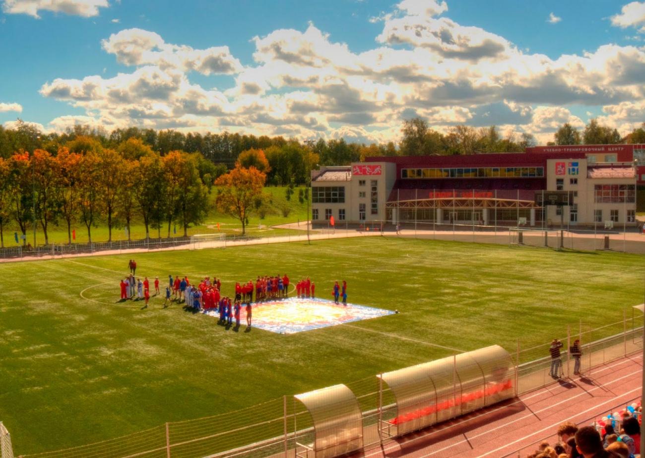 Стадион в Селятино начали реконструировать к чемпионату мира по футболу