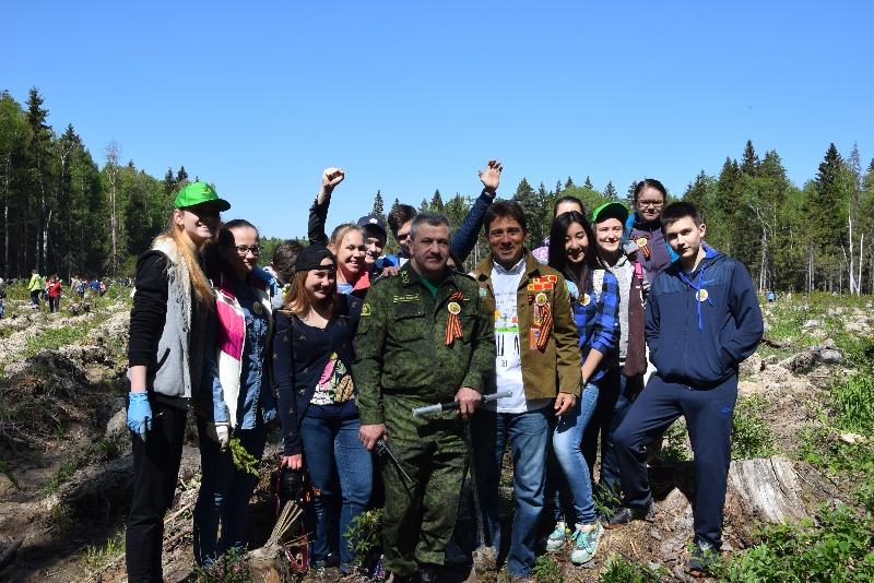 Вадим Андронов дал старт Акции «Лес Победы»
