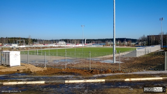 В Апрелевке начато строительство многофункционального стадиона