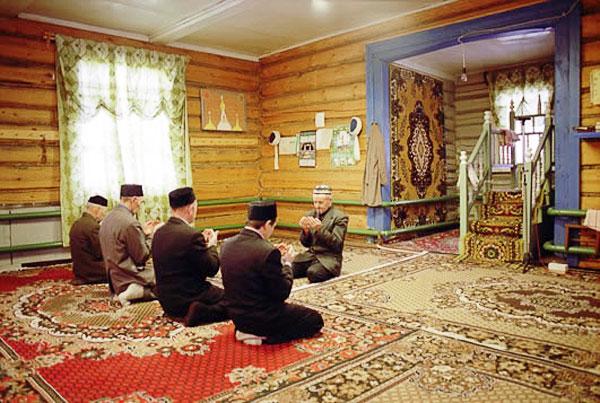 Мечеть у себя дома