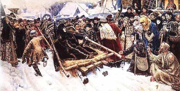 Русские женщины о боярыне Морозовой