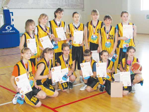 Баскетбол в Апрелевке