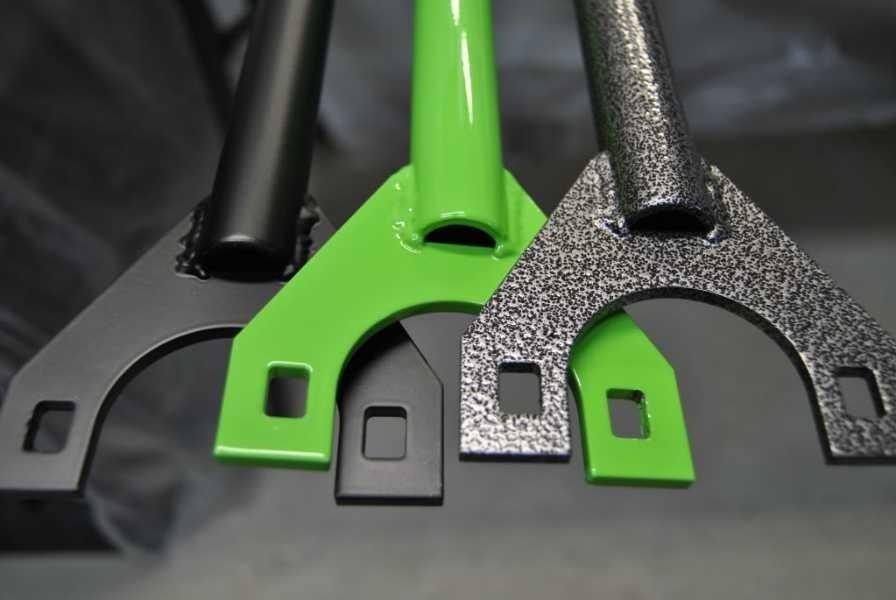 Порошковая покраска продлит срок службы металлических конструкций