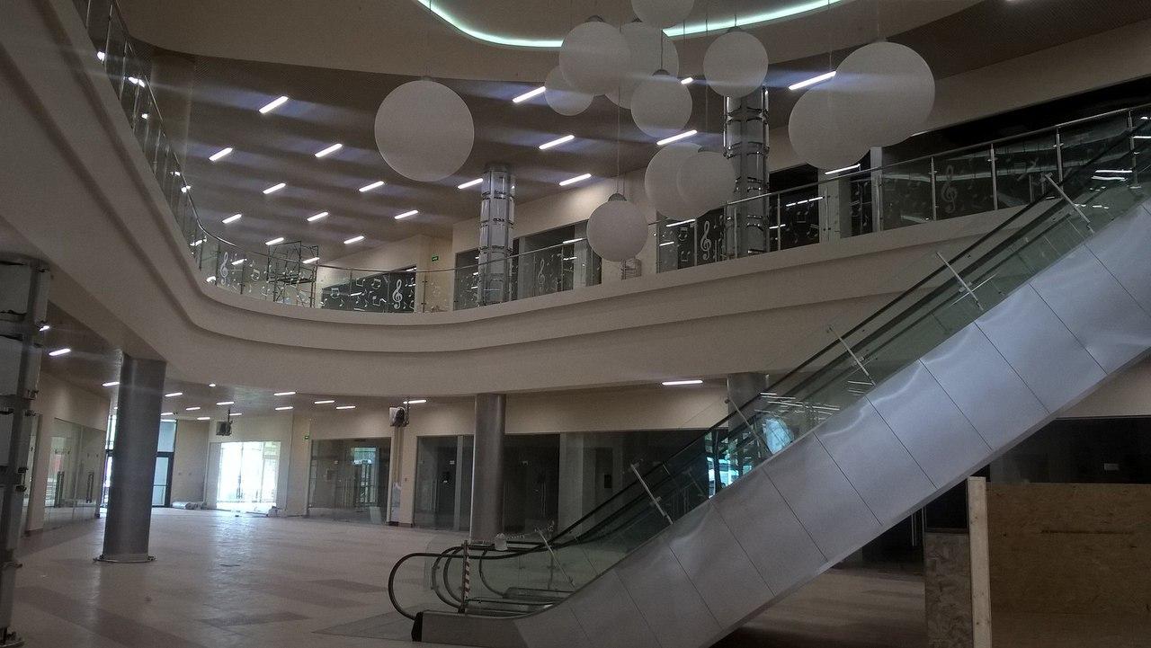 Торговый центр «Мелодия» в Апрелевке скоро  открытие