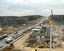 Строительство Центральной кольцевой автодороги