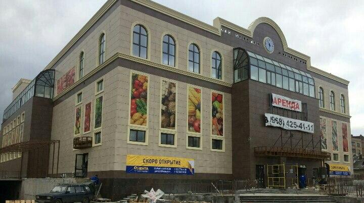 Строительство торгового центра в Селятино близится к завершению
