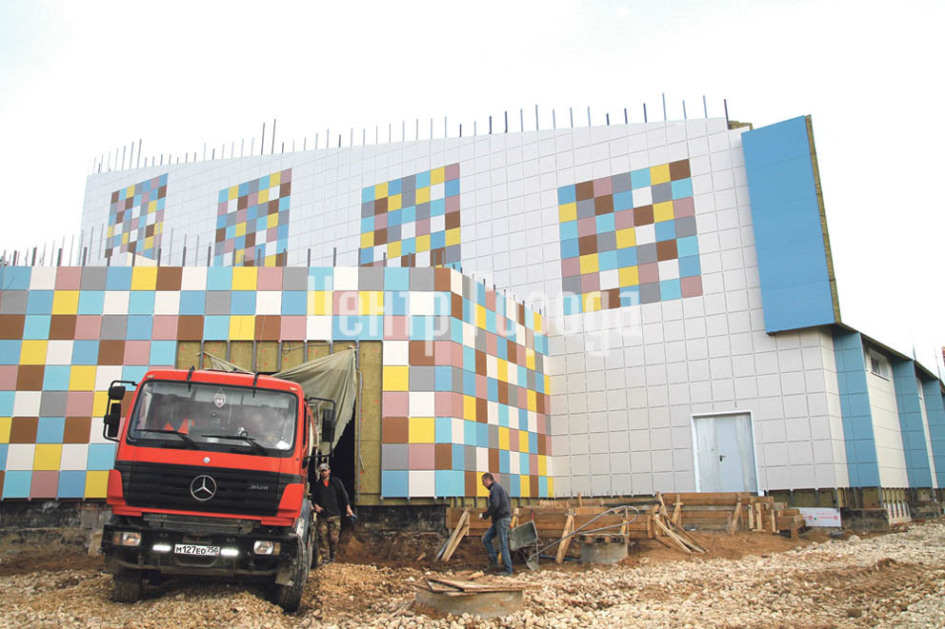 Ледовый дворец откроется в Селятино