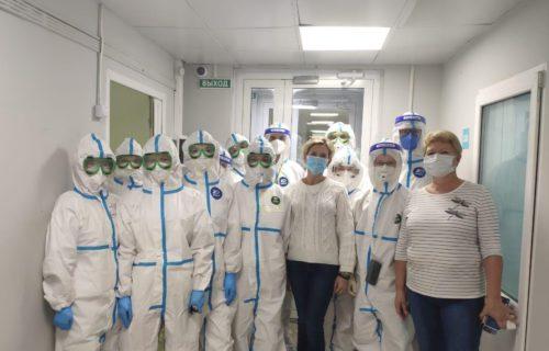 В Селятино вновь заработал инфекционный госпиталь